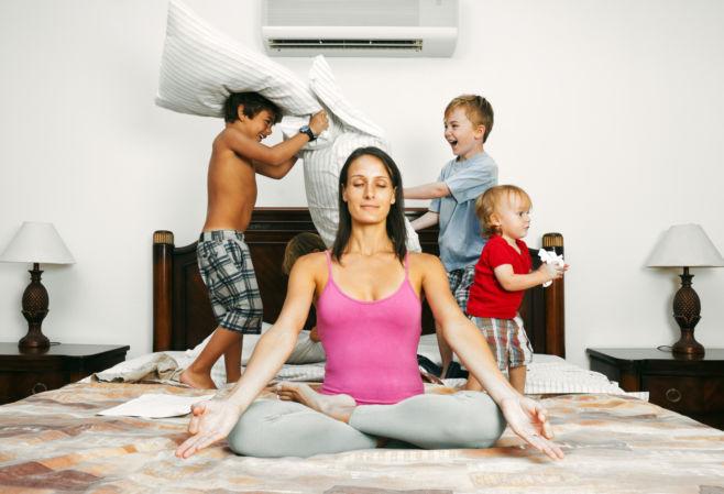 Как научиться отдыхать маме