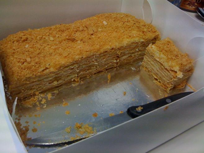 Торт «Наполеон» - рецепт