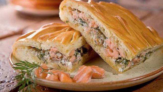 Пирог из рыбы — рецепт
