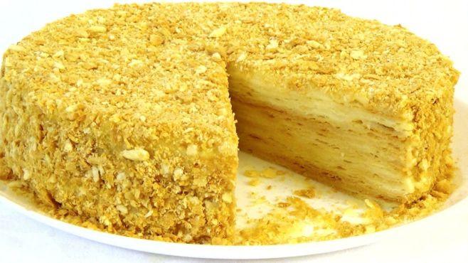 Торт «Наполеон» — рецепт