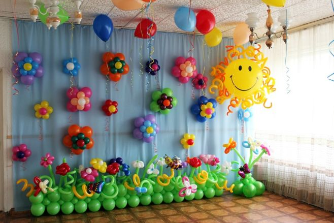 Оформление праздника у ребенка