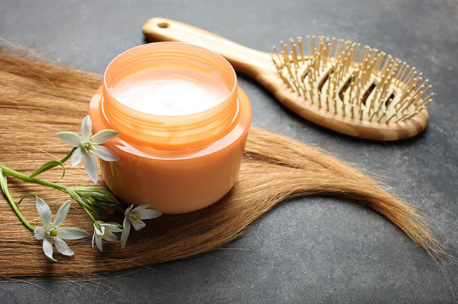 Маска для волос с желатином