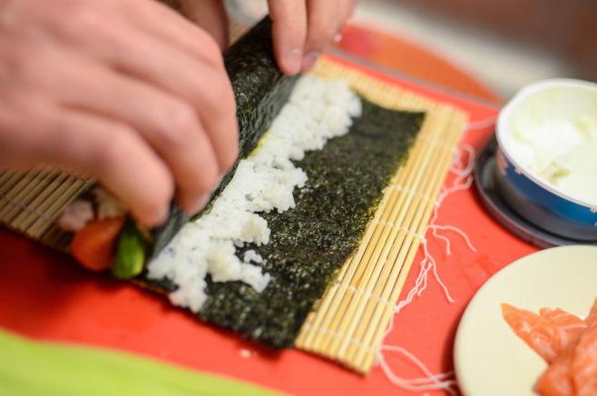 Как приготовить суши без рыбы