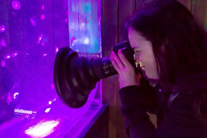 Как фотографировать через стекло