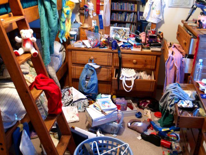 Как убрать лишнее из дома