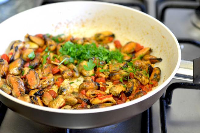 Как приготовить мясо мидий