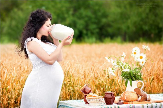 Беременность и лето