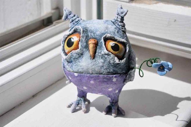 Как делать игрушки из папье-маше