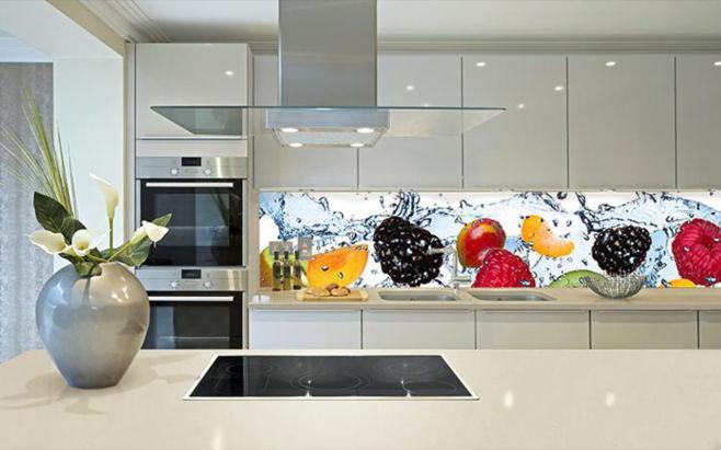 Как выбрать кухонный фартук