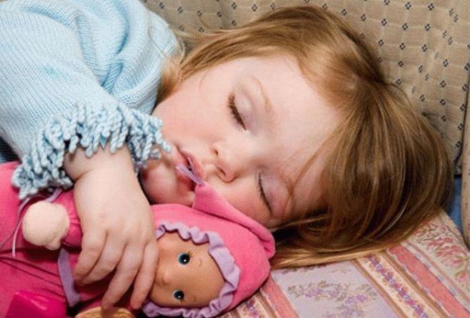 Как уложить ребенка спать