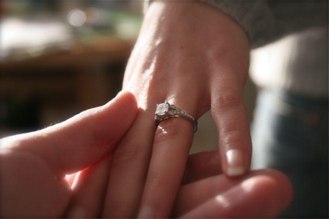 Что такое помолвочное кольцо