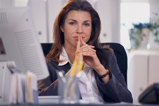 Женщина-начальник