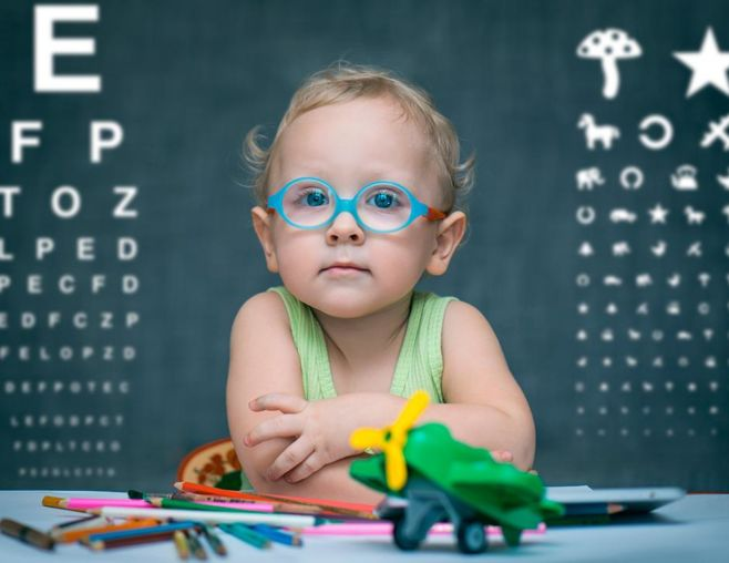 Симптомы близорукости у детей