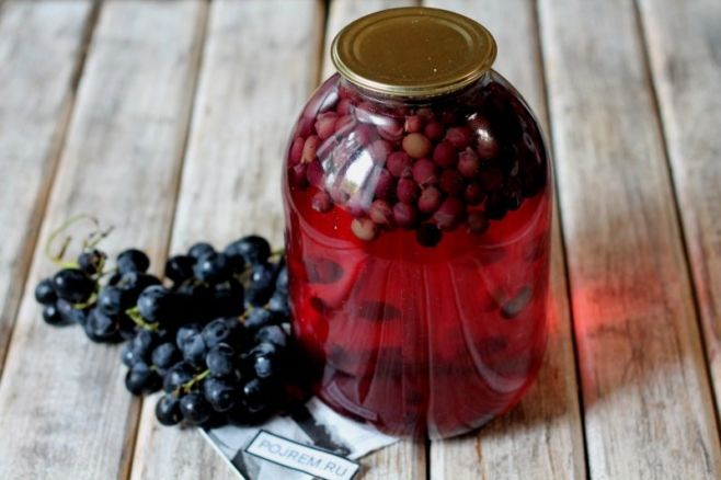 Что приготовить из винограда