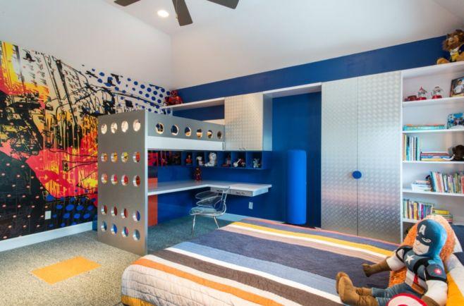 Как оформить детскую комнату мальчика