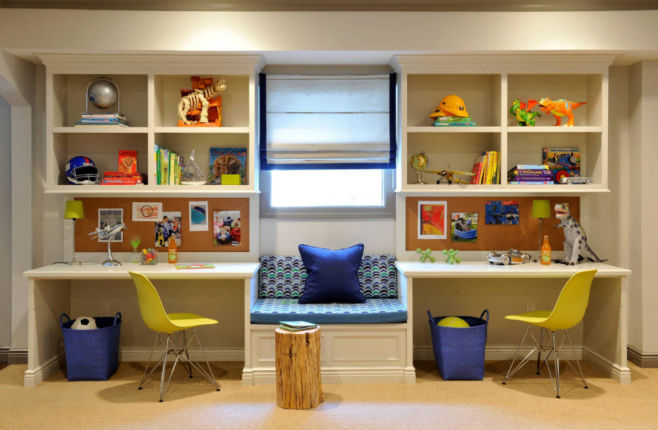 Как обустроить рабочее место в детской